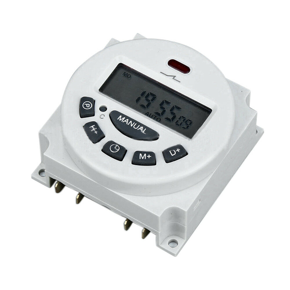 programmable timer switch manual
