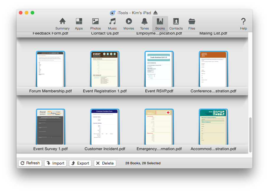 move pdf from mc desktop to ipad