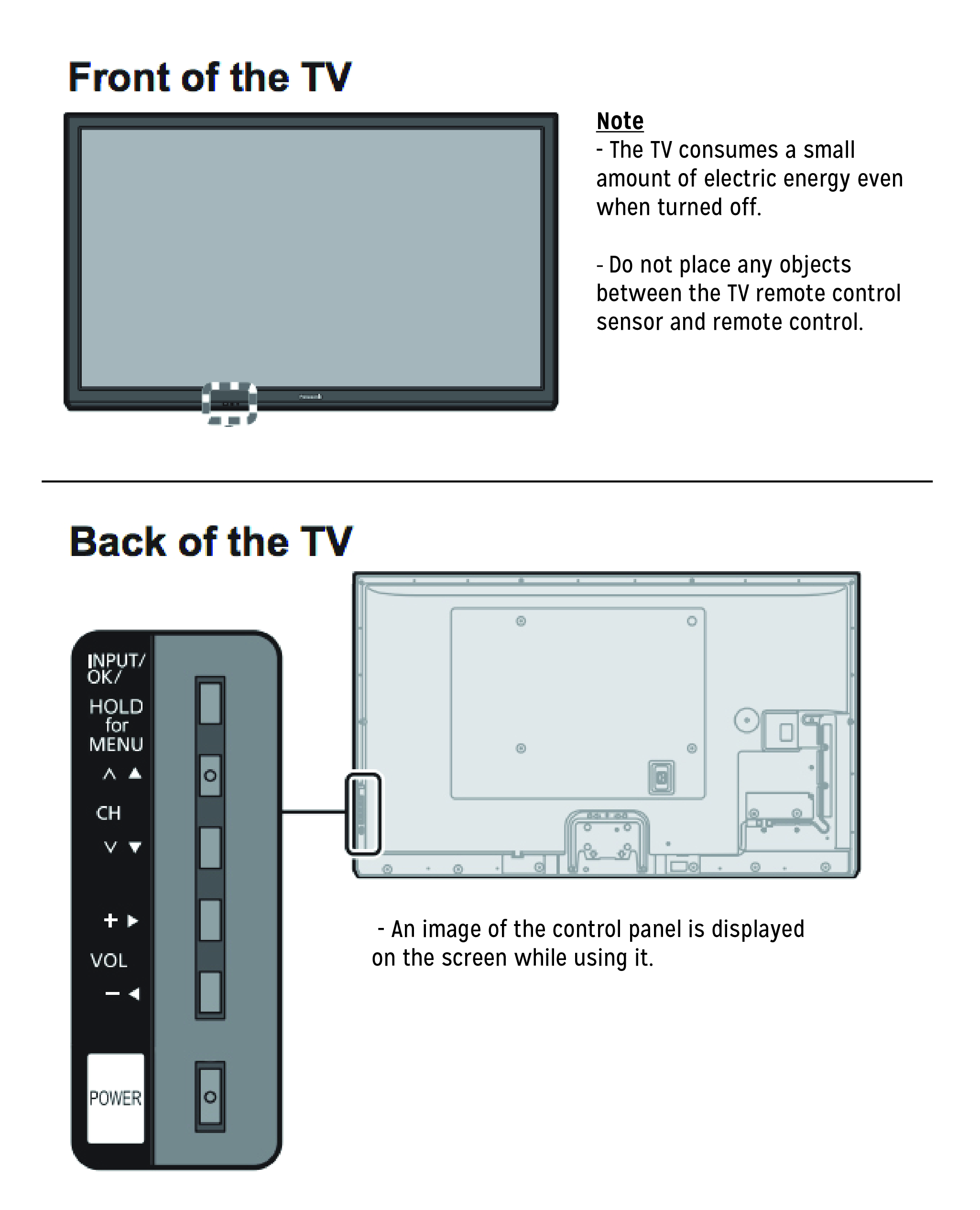 panasonic tv manual th49e400