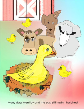 the ugly duckling story with pictures pdf